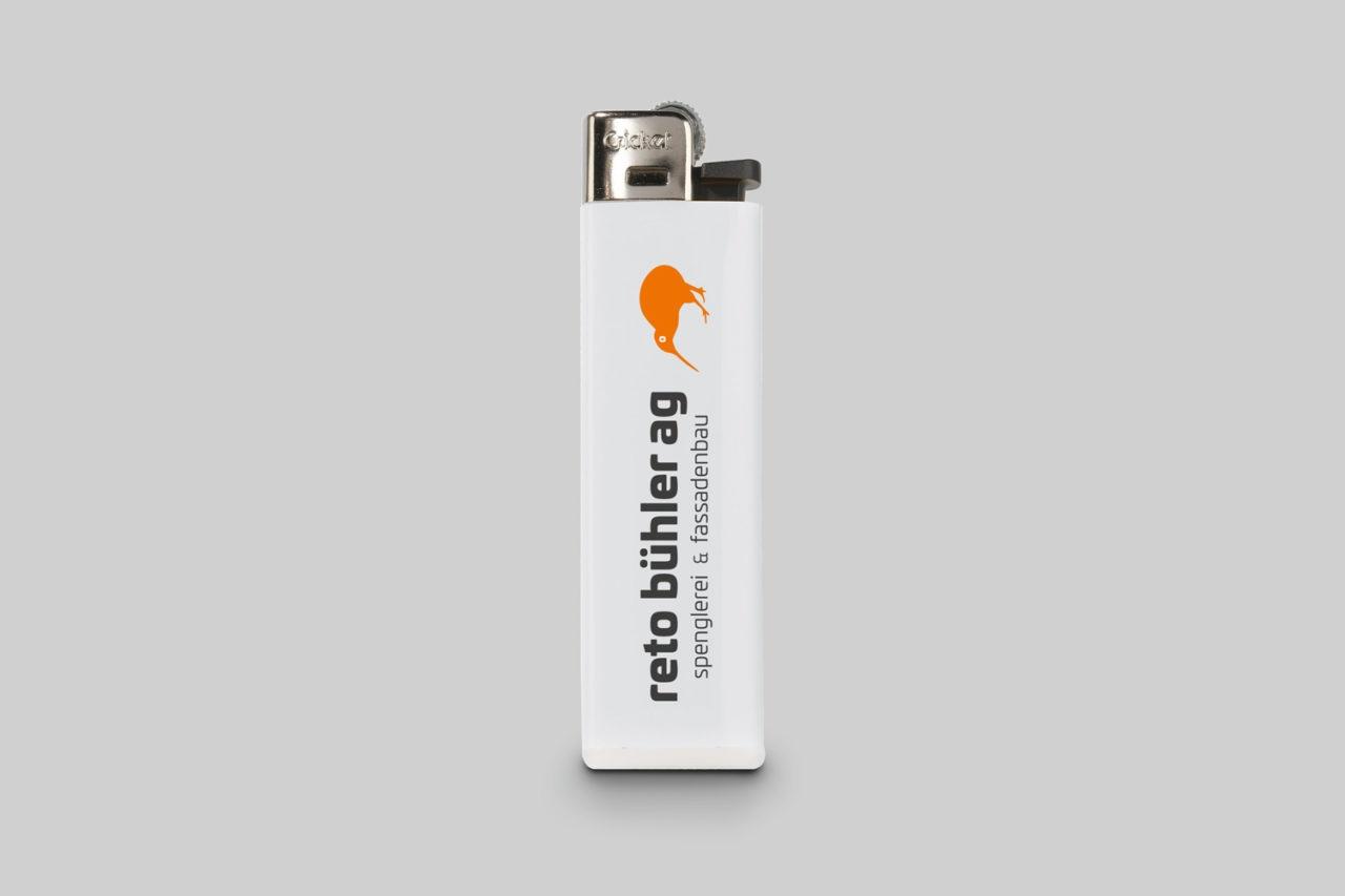Feuerzeug mit Logo