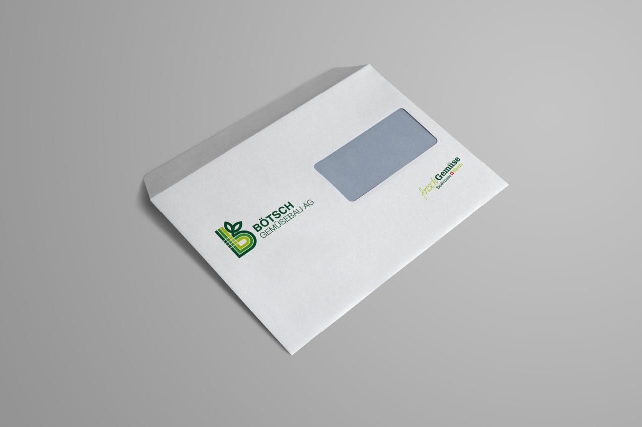 Briefumschlag gestalten